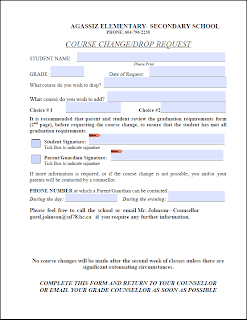 AESS Course Change Request Form